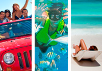Isla Cozumel Extreme Day Pass with Hotel Pickup in Cozumel