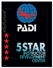 PADI Five Star Facility