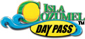Isla Cozumel Day Pass logo - all rights reserves